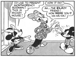 Mortimer as Montmorency Rodent