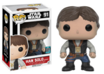 Funko Pop SW Celebration Exclusive Ceremony Han Solo