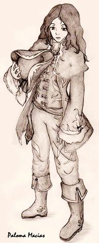 File:Captain Sabatini Female by HikariSakuraChan.png