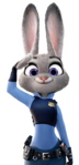 Judy Hopps police uniform