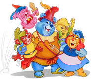 Gummi Bears Promotional Image from Walt Disney's Encyclopedia of Animated Characters