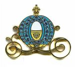 Cinderella's Carriage Pin