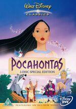 Pocahontas SE 2005 UK DVD