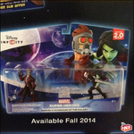 Star Lord and Gamora Disney Infinity 2