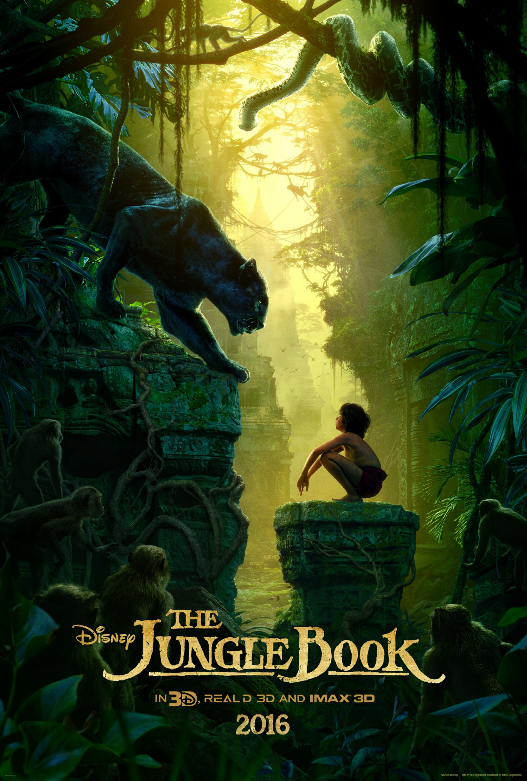 The Jungle Book 2016 Hindi pDvDRip x264 AAC – Hon3y ~ 700 MB