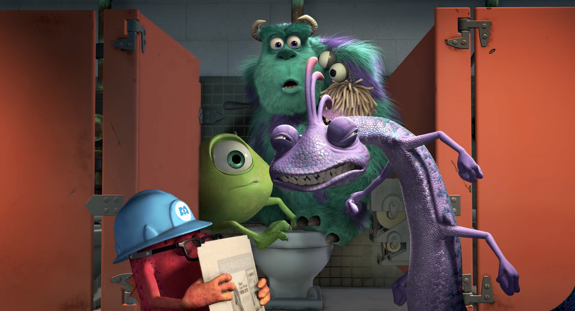 Tony Monsters Inc Disney Wiki Fandom Powered By Wikia