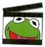 Kermit clapboards pin