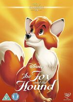 The Fox and the Hound UK DVD 2014 Limited Edition slip cover