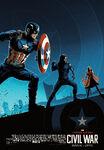 Civil War IMAX AMC Poster 01