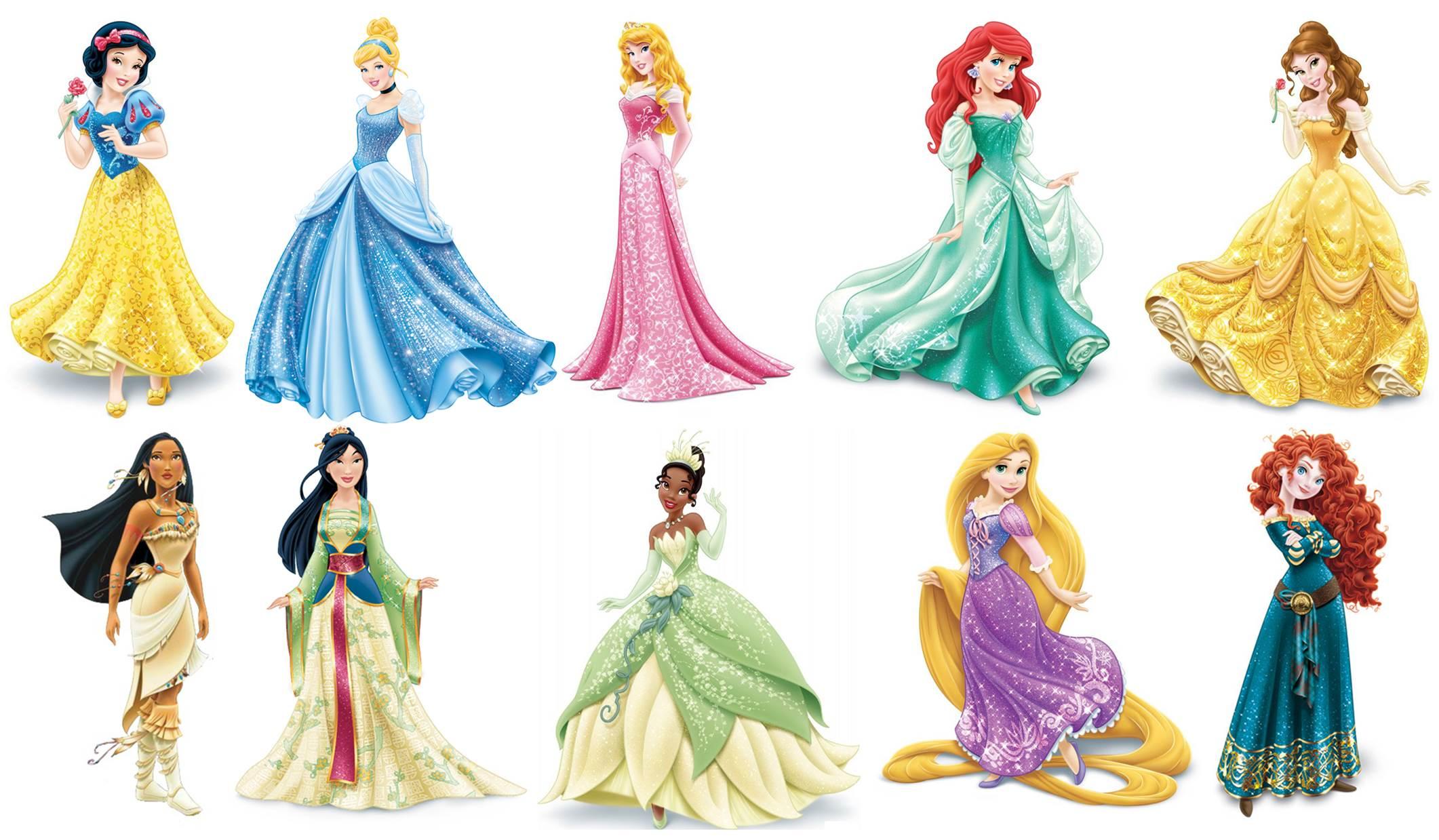 disney princesses 2048