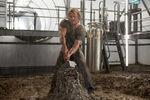 Thor grabs Mjolnir