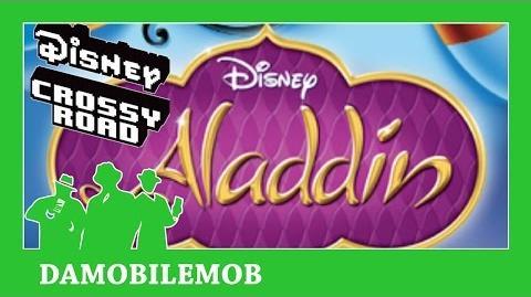 ★ Disney Crossy Road Aladdin Update ALL SECRET CHARACTERS Unlocked (Part 1)