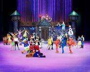 Disney on Ice Group Shot