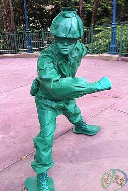 Kingdom Keepers Characters Green Army Men | Disne...