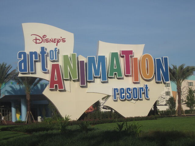 File:Art of Animation sign.jpg