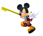 King Mickey (Battle) KHII