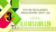 McNinja - Put on 'em Glasses Spot