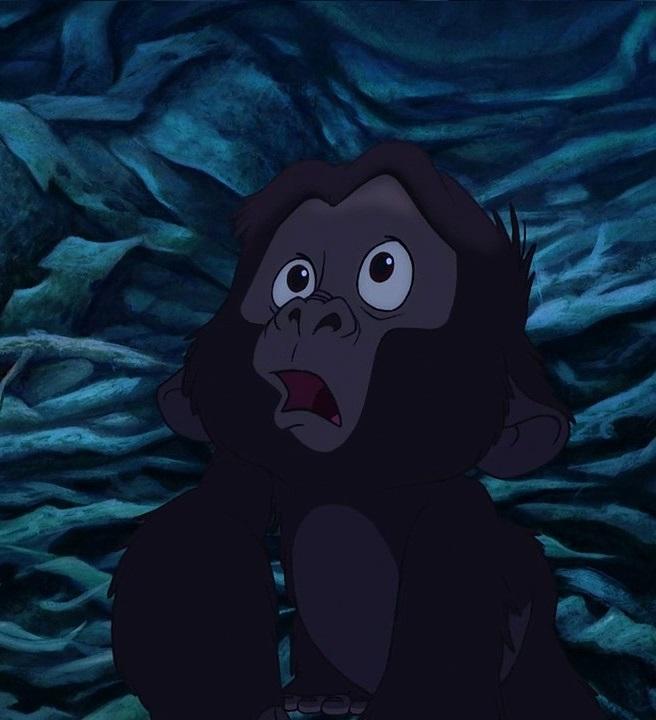Kerchak and kala 39 s baby disney wiki fandom powered by wikia - Tarzan gorille ...