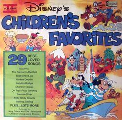 Disneys childrens favorites lp volume 2