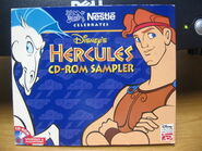 Nestle celebrates hercules cd-rom sampler