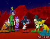 Martain Mickey and Pluto 2