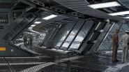 Helicarrier Corridor Concept Art 2