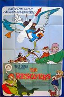 The rescuers uk poster