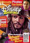 Disney adventures june-july 2007