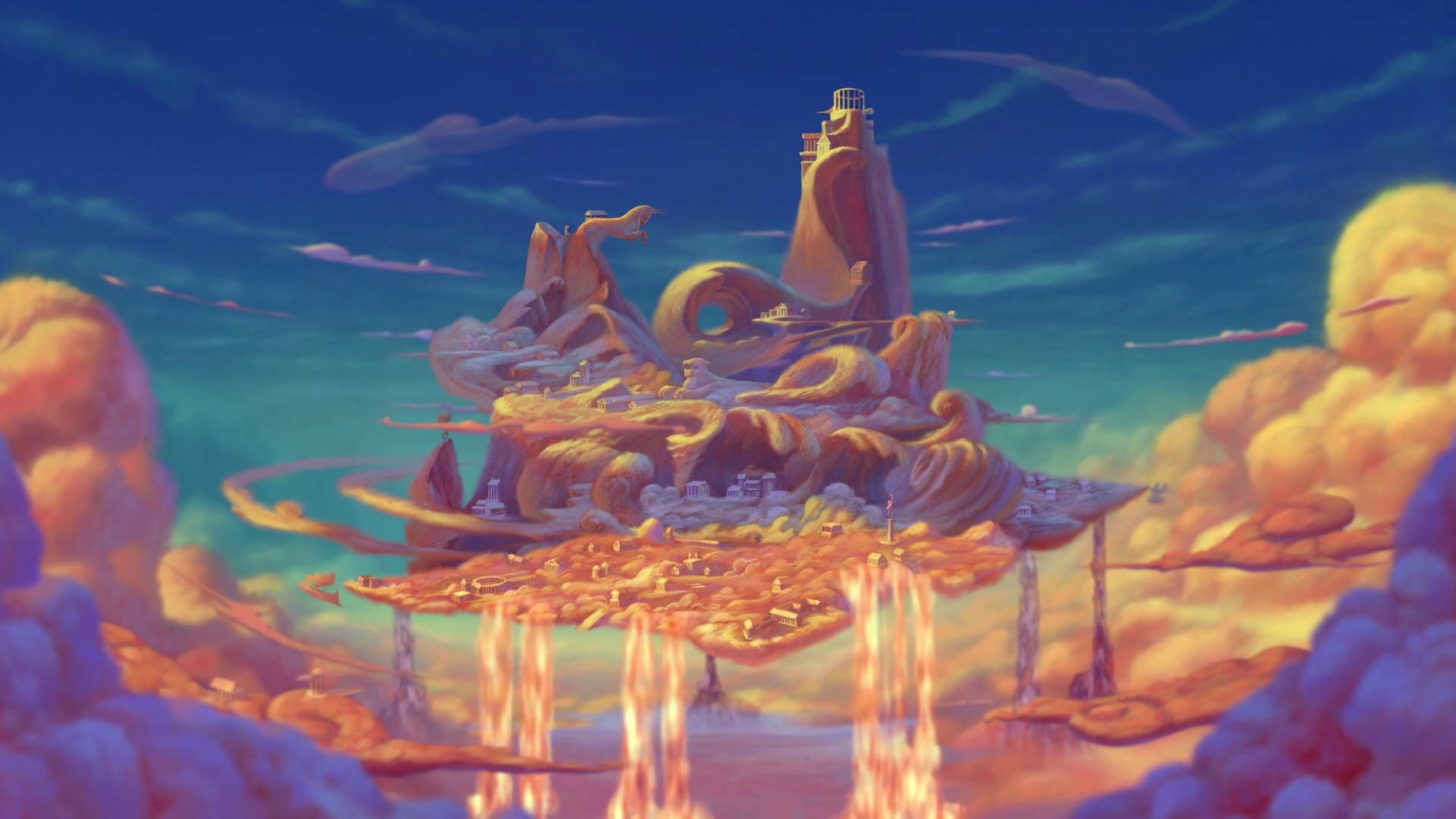 Image - Olimpo.png | Disney Wiki | Fandom powered by Wikia  Hercules