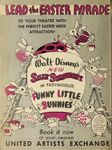 Funny little bunnies poster