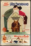 40x60 ugly dachshund and winnie the pooh and the honey tree styleZ JC09271 L