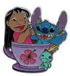 HKDL - Coffee Cup Series - Lilo, Stitch, and Scrump