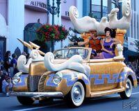 Disney Stars and Motorcars Parade hercules