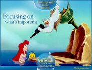 The Little Mermaid Diamond Edition Finding Your Voice Means Focusing on What's Important Promotion