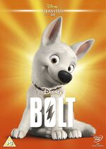 Bolt UK DVD 2014 Limited Edition slip cover