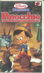 Pinocchio uk vhs 3