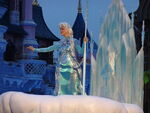 Elsa the Snow Queen at Disney Magic on Parade!