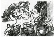 Disney's A Goofy Movie - Storyboard by Andy Gaskill - 1