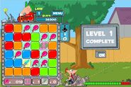 Finish level - part 1
