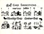 Model sheet 1149-8014 ruff card suggestions blog