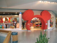 Disney Store Renovated