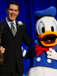 Tony Anselmo with Donald Duck