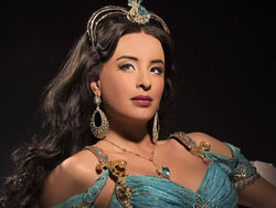Princess Jasmine on Aladdin the Broadway Musical 1
