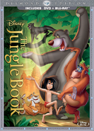The jungle book blu ray dvd cover