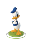 Donald DI2 Figurine Transparent