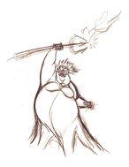 Walt-Disney-Sketches-Ursula-walt-disney-characters-34795217-1236-1600
