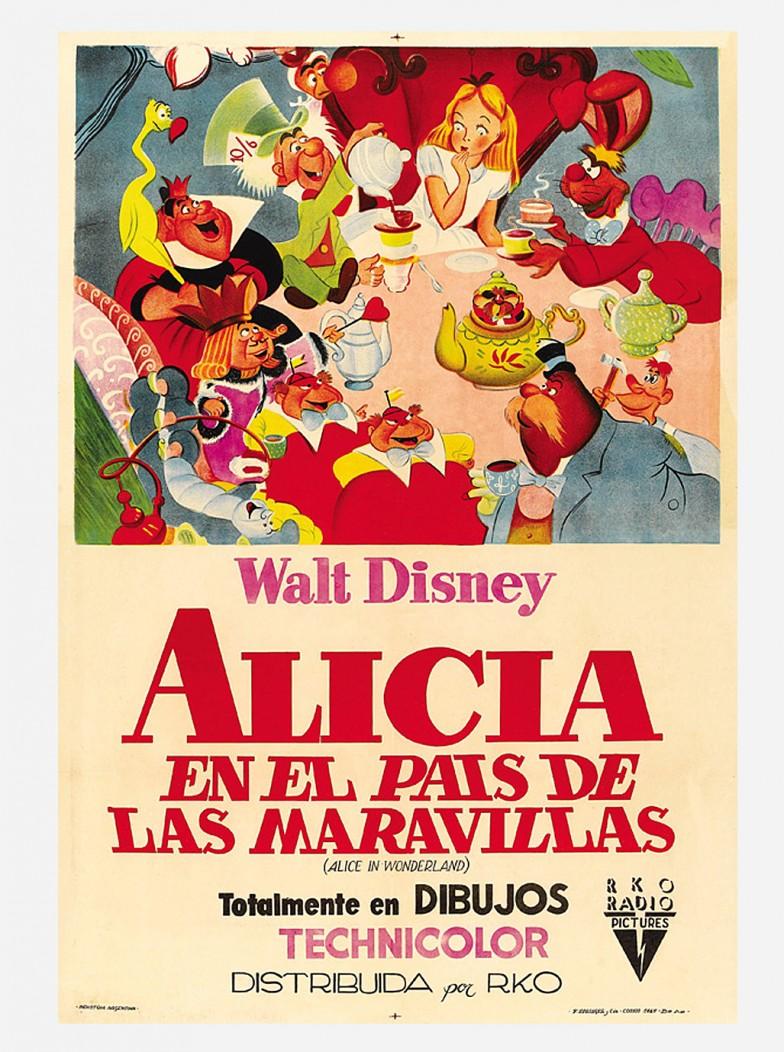 Image - Movie-poster-shop-alice-in-wonderland- 1951 -68.6x101.6-cm.jpg ...