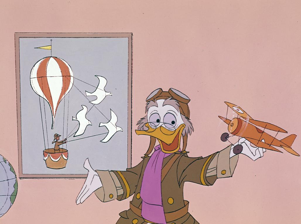 Fly With Von Drake Disney Wiki Fandom Powered By Wikia