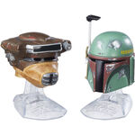 Boba Fett and Leia Bounty Hunter Helmets Black Series