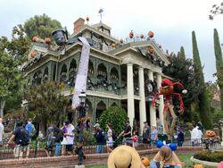 Haunted Mansion Holiday at Disneyland